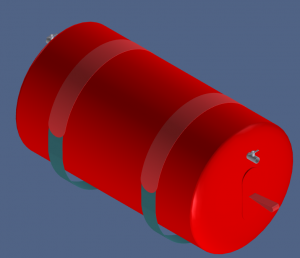 Flootzer Hose float CAD